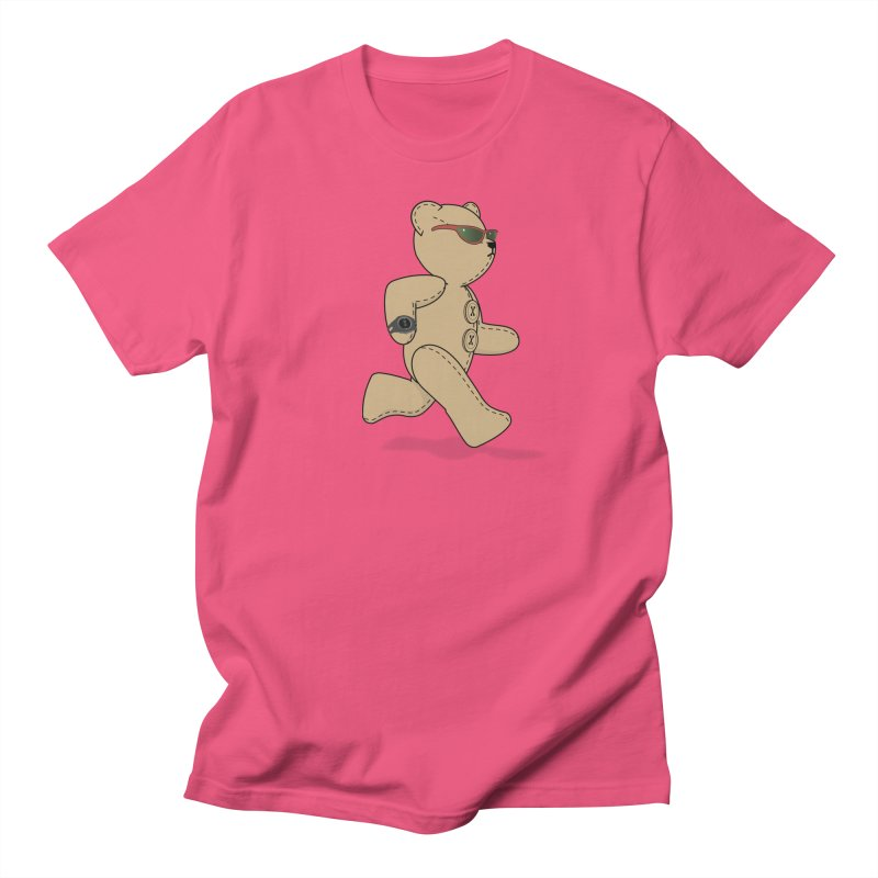Running Bear Men's Regular T-Shirt by grumpyteds's Artist Shop