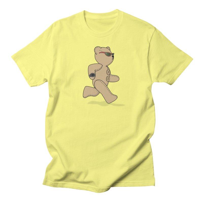Running Bear Women's T-Shirt by grumpyteds's Artist Shop