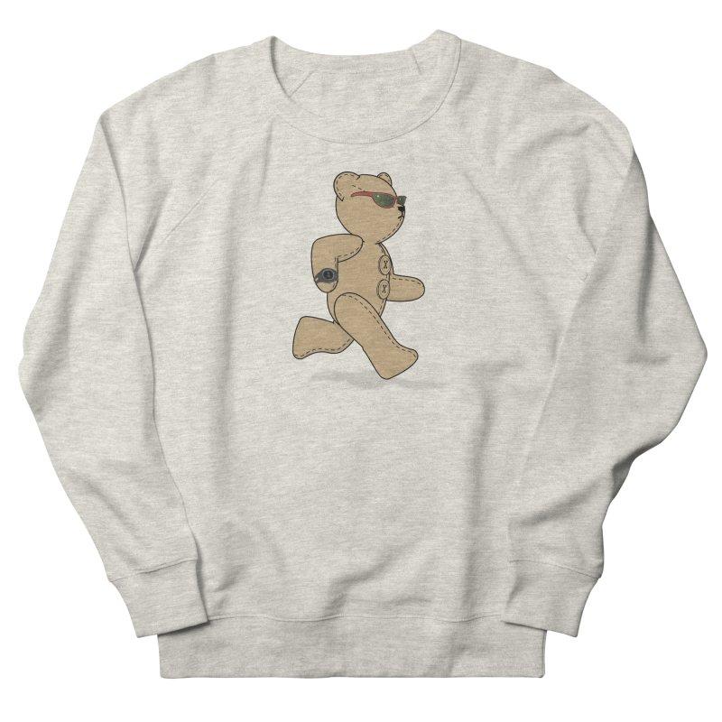 Running Bear Women's French Terry Sweatshirt by grumpyteds's Artist Shop