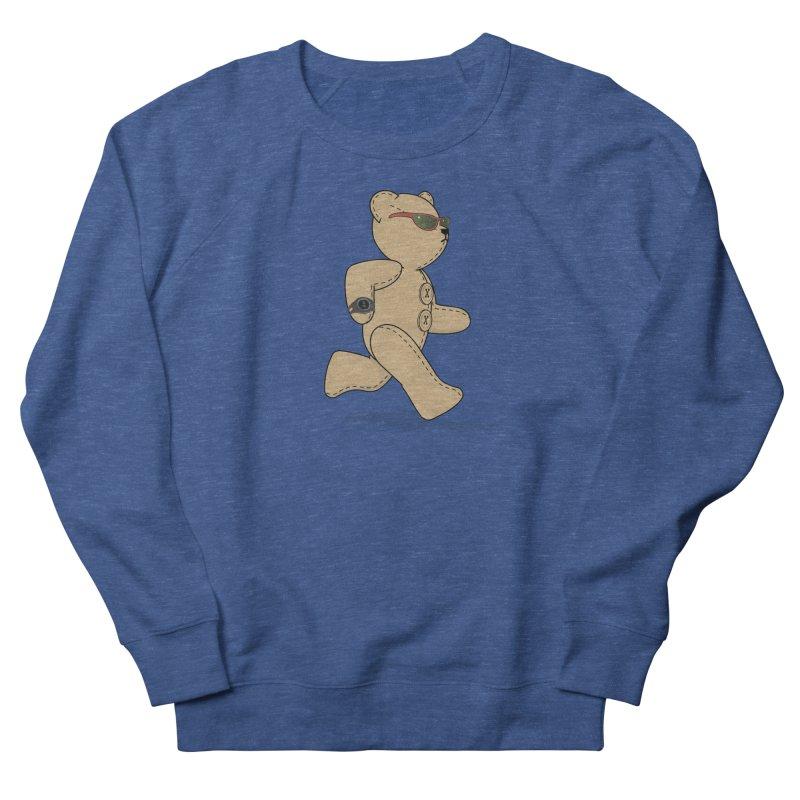 Running Bear Men's Sweatshirt by grumpyteds's Artist Shop