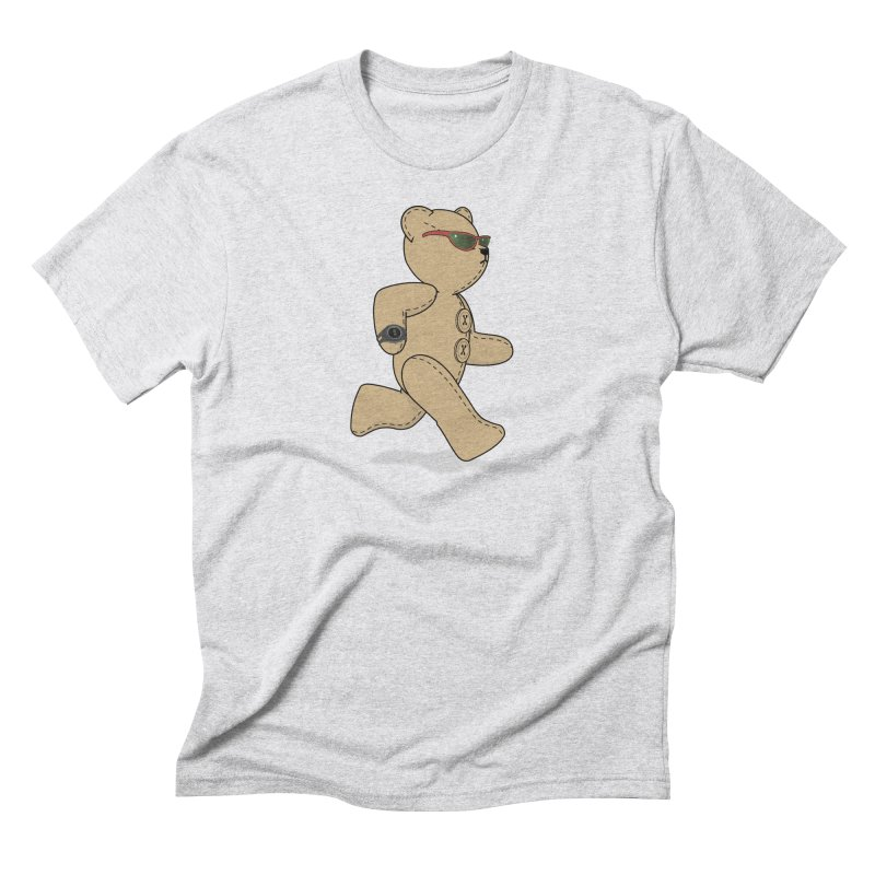 Running Bear Men's Triblend T-Shirt by grumpyteds's Artist Shop