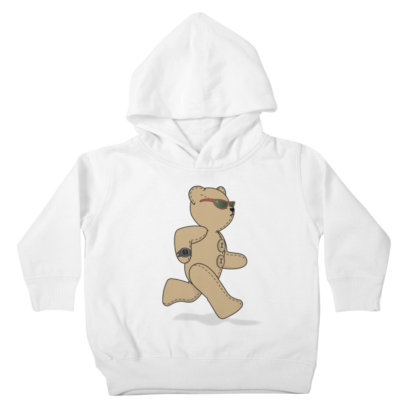 Running Bear Kids Toddler Pullover Hoody by grumpyteds's Artist Shop