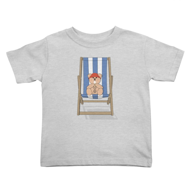 Day At The Beach Kids Toddler T-Shirt by grumpyteds's Artist Shop