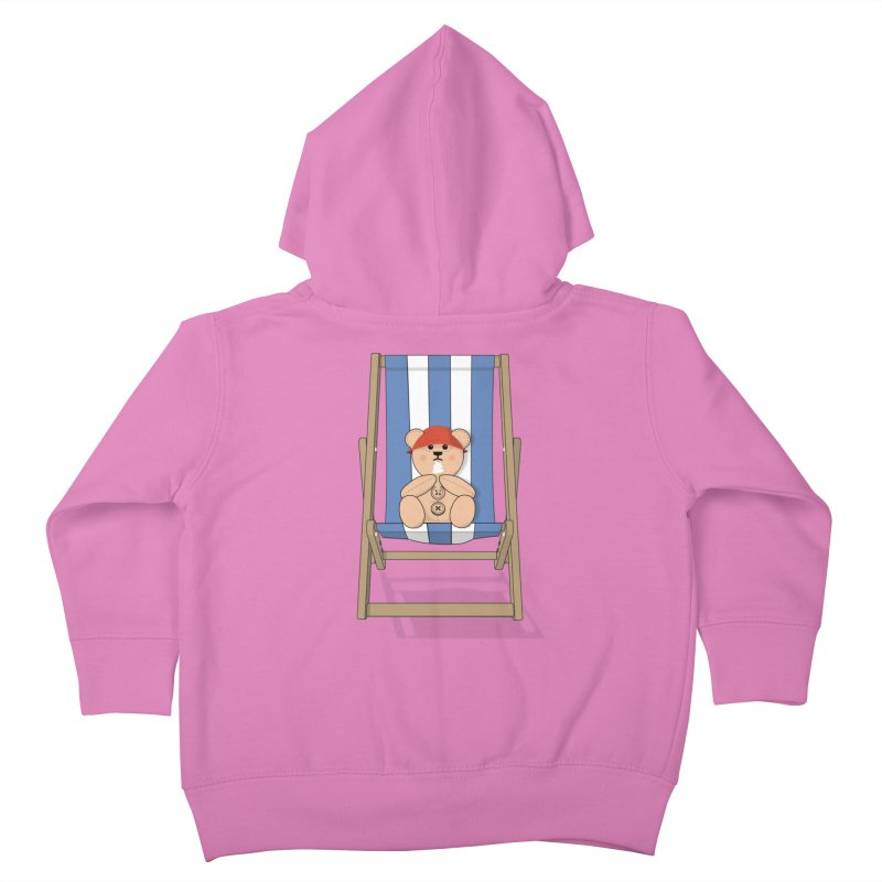 Day At The Beach Kids Toddler Zip-Up Hoody by grumpyteds's Artist Shop