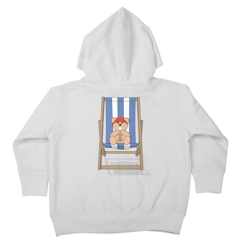 Day At The Beach Kids Toddler Zip-Up Hoody by grumpyteds's Artist Shop