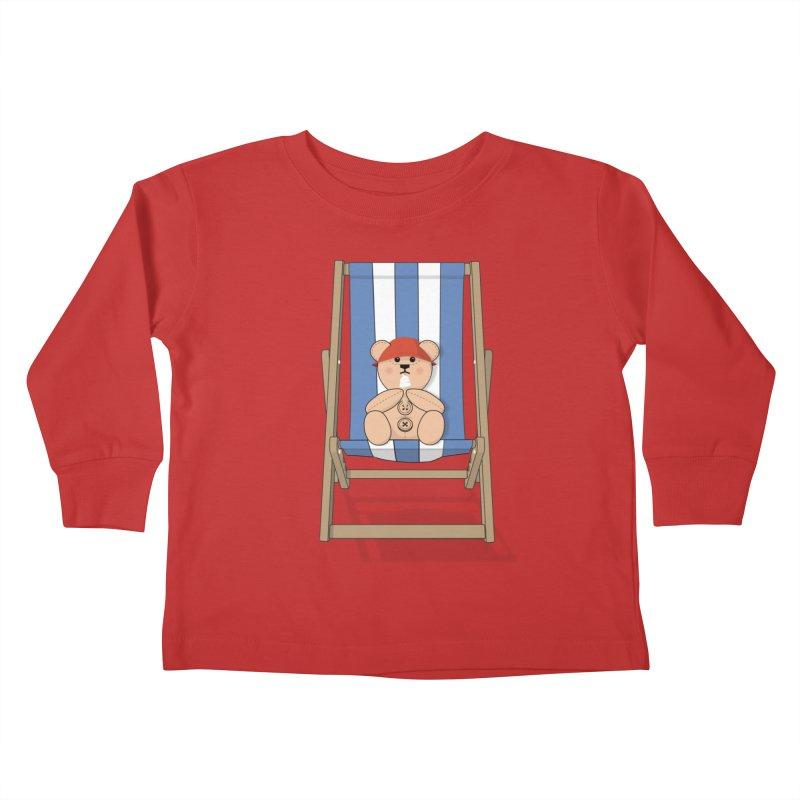 Day At The Beach Kids Toddler Longsleeve T-Shirt by grumpyteds's Artist Shop