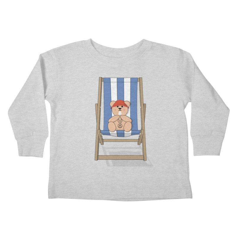 Day At The Beach Kids Toddler Longsleeve T-Shirt by grumpyteds's Artist Shop
