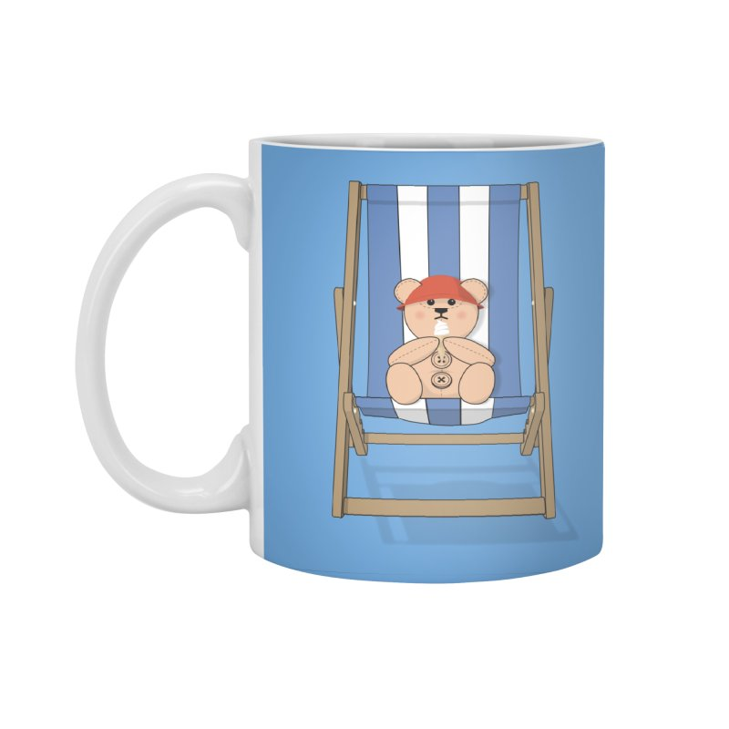 Day At The Beach Accessories Mug by grumpyteds's Artist Shop