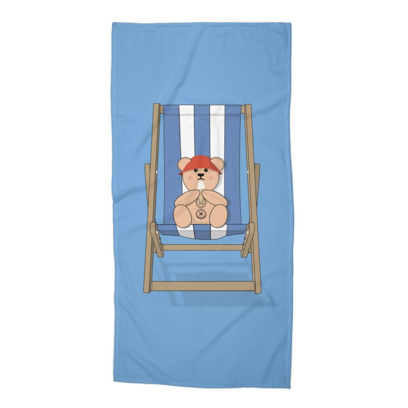 Day At The Beach Accessories Beach Towel by grumpyteds's Artist Shop
