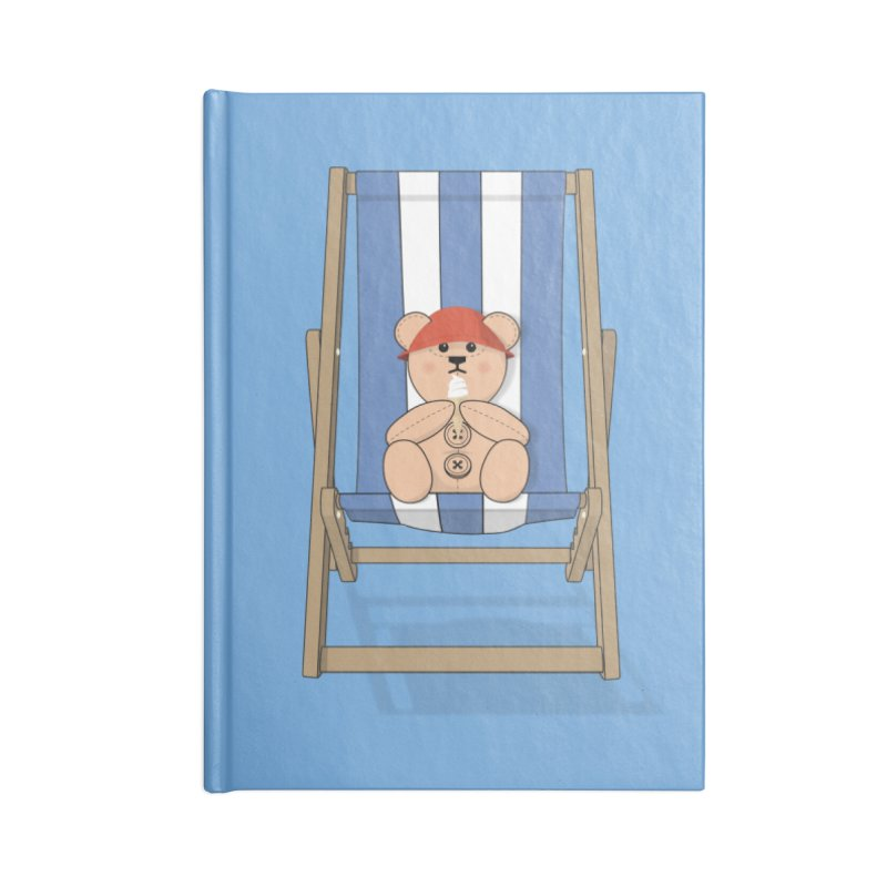 Day At The Beach Accessories Blank Journal Notebook by grumpyteds's Artist Shop