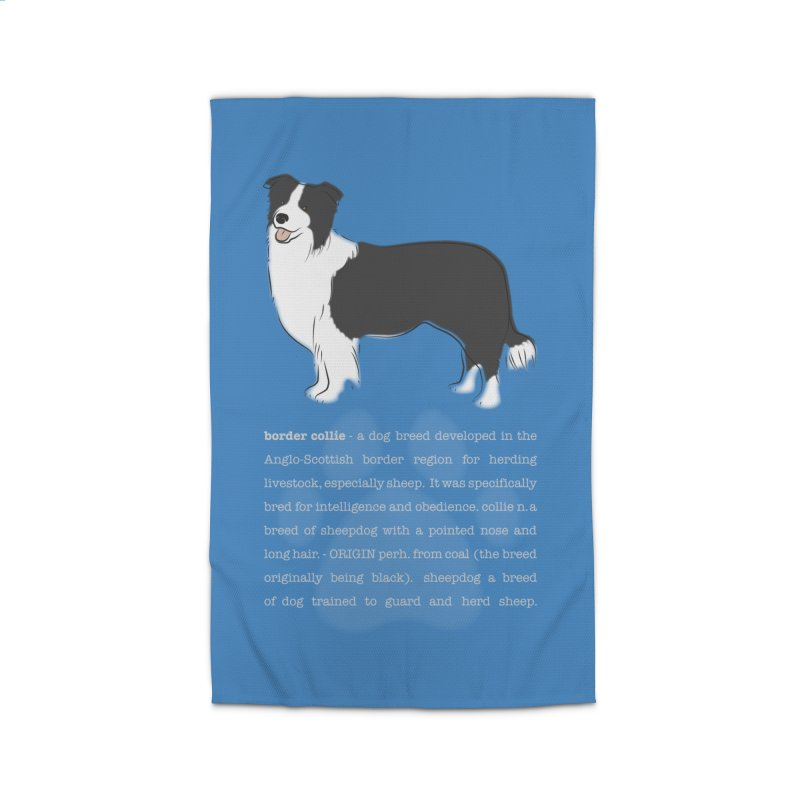 Border Collie 1 Home Rug by grumpyteds's Artist Shop