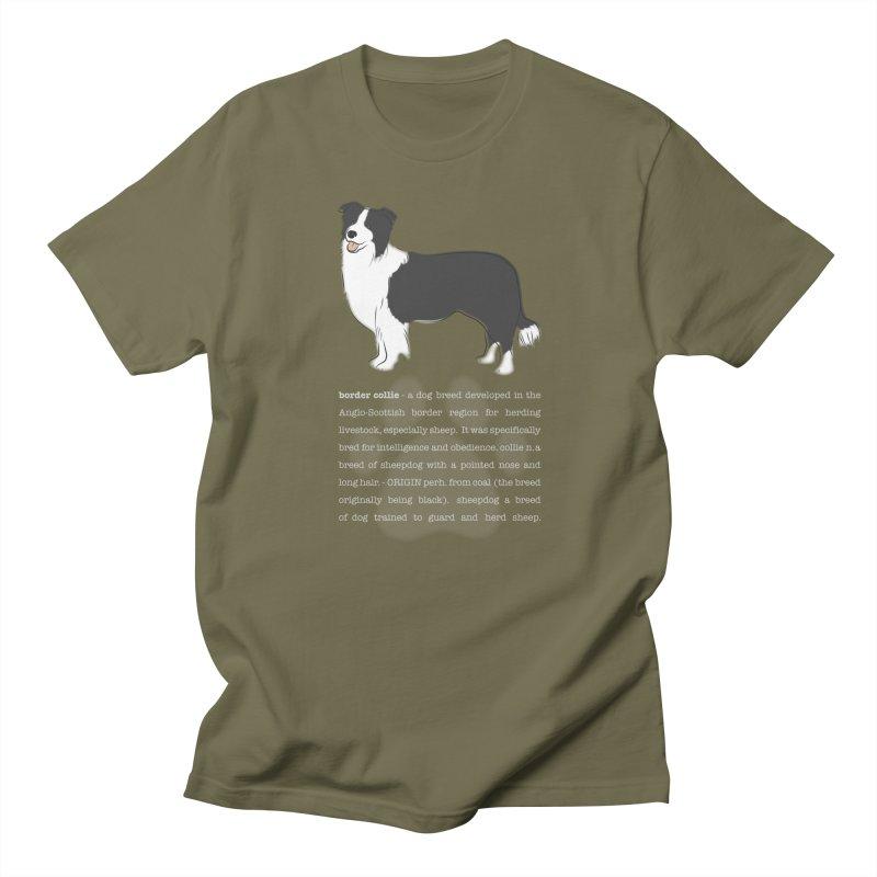 Border Collie 1 Women's T-Shirt by grumpyteds's Artist Shop