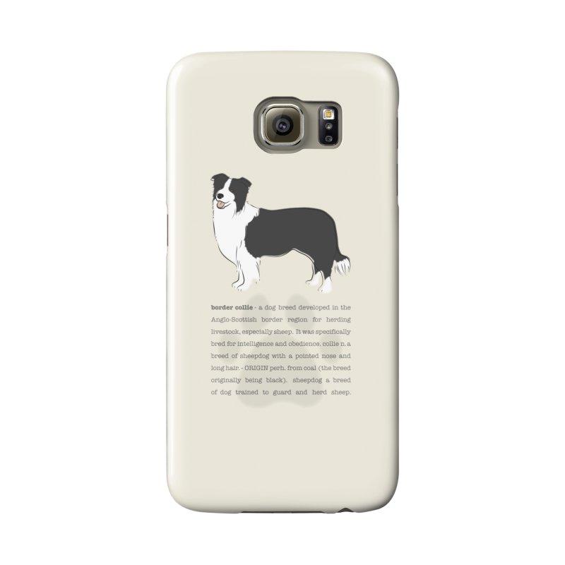 Border Collie 2 Accessories Phone Case by grumpyteds's Artist Shop