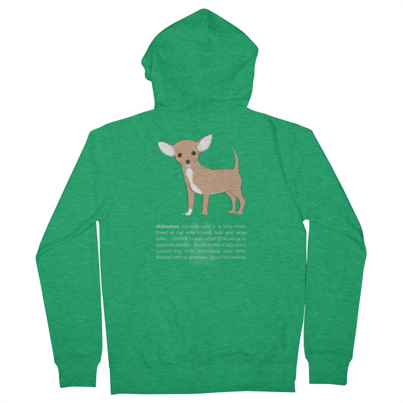 Chihuahua 1 Women's Zip-Up Hoody by grumpyteds's Artist Shop
