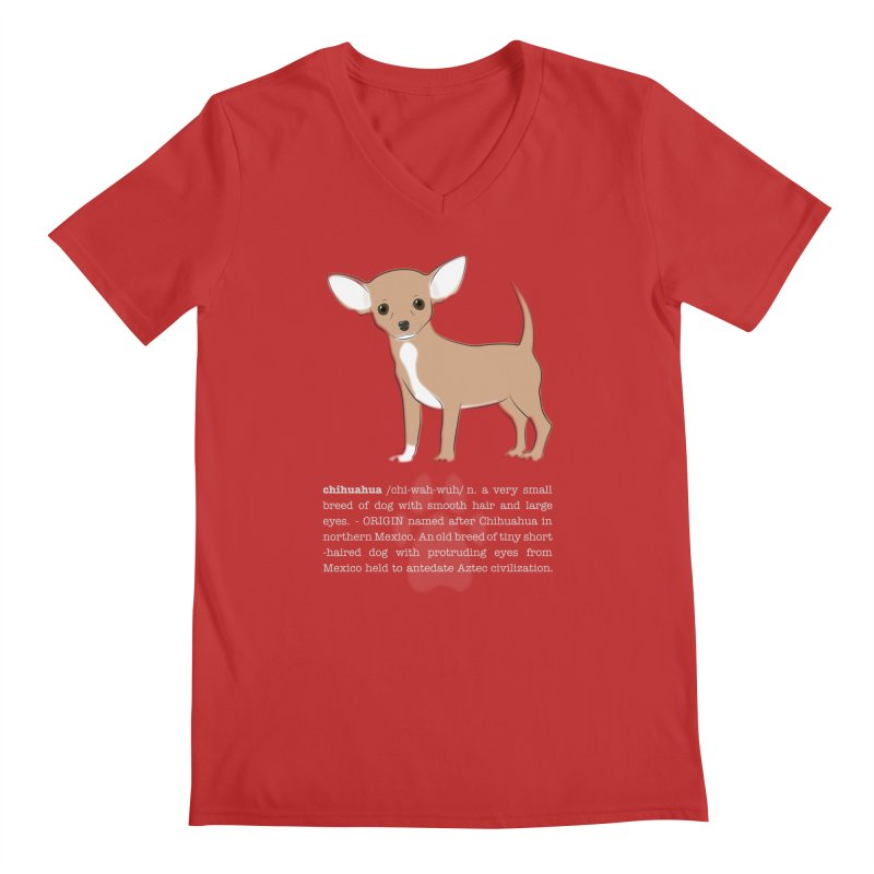 Chihuahua 1 Men's V-Neck by grumpyteds's Artist Shop