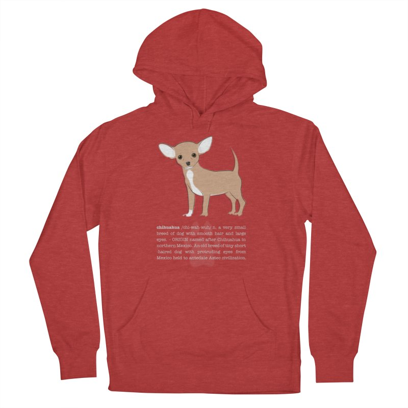 Chihuahua 1 Men's French Terry Pullover Hoody by grumpyteds's Artist Shop