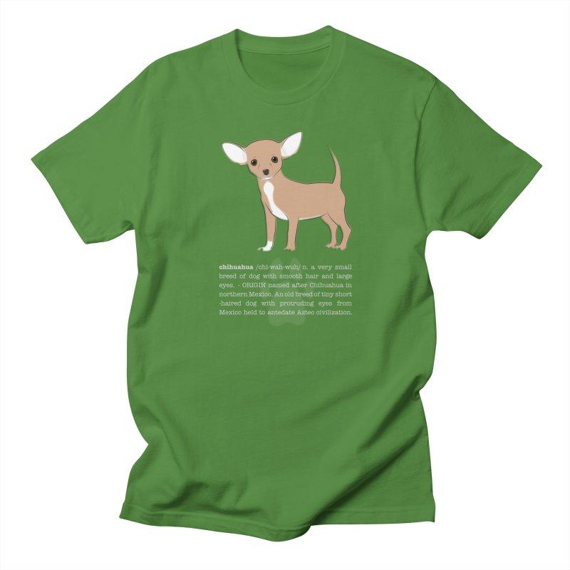 Chihuahua 1 Men's Regular T-Shirt by grumpyteds's Artist Shop