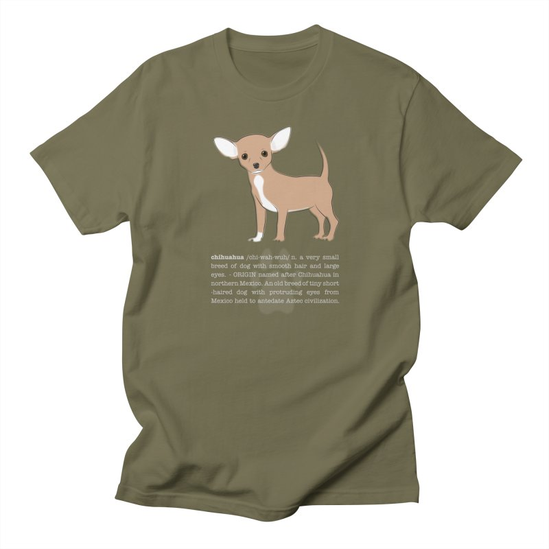 Chihuahua 1 Men's Regular T-Shirt by grumpyteds's Artist Shop