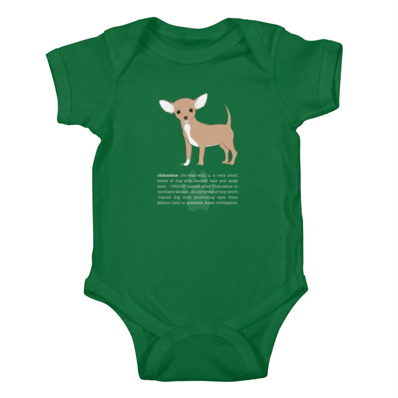 Chihuahua 1 Kids Baby Bodysuit by grumpyteds's Artist Shop