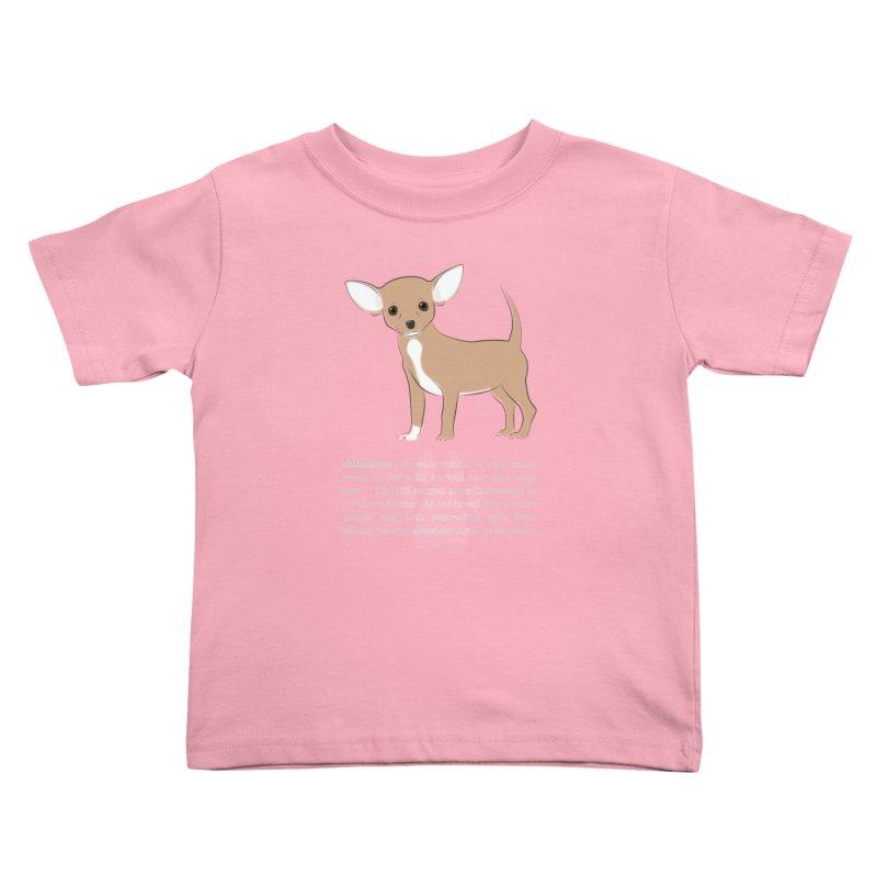 Chihuahua 1 Kids Toddler T-Shirt by grumpyteds's Artist Shop