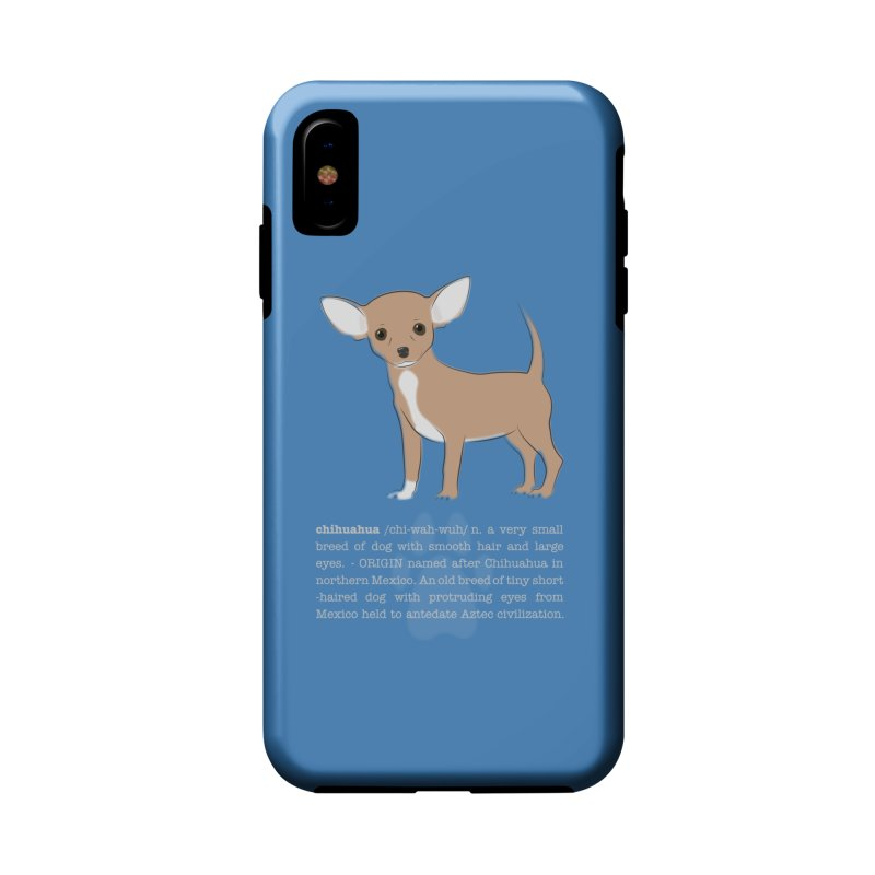 Chihuahua 1 Accessories Phone Case by grumpyteds's Artist Shop