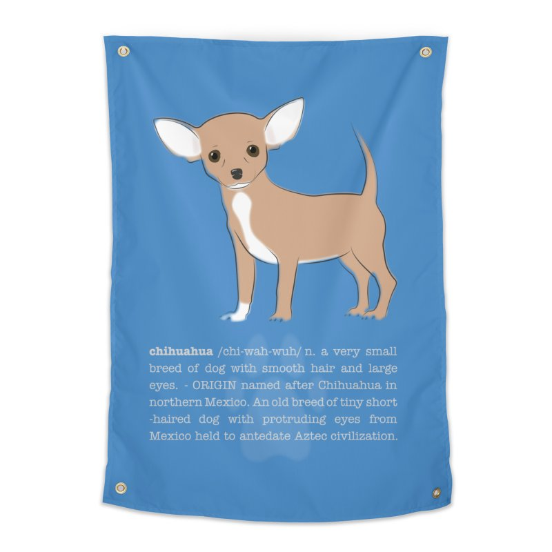 Chihuahua 1 Home Tapestry by grumpyteds's Artist Shop