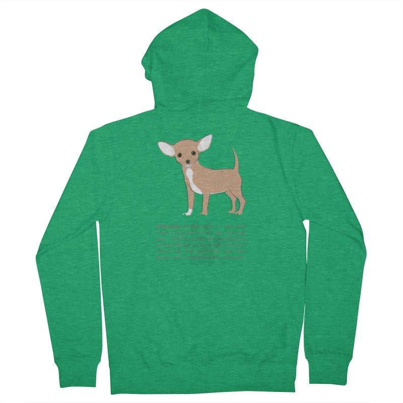 Chihuahua 2 Men's Zip-Up Hoody by grumpyteds's Artist Shop