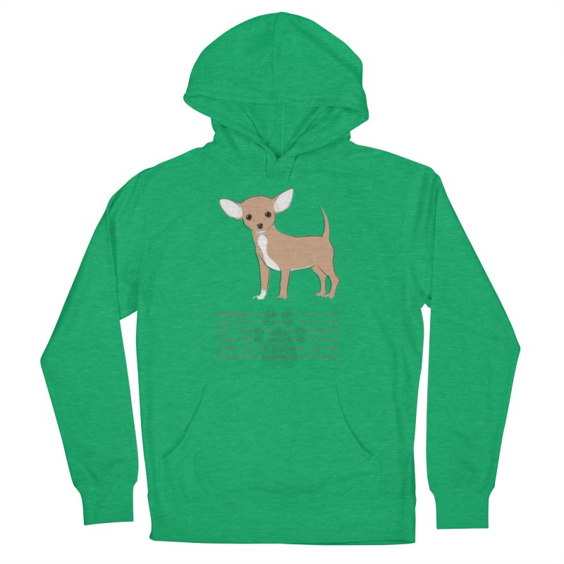 Chihuahua 2 Men's French Terry Pullover Hoody by grumpyteds's Artist Shop