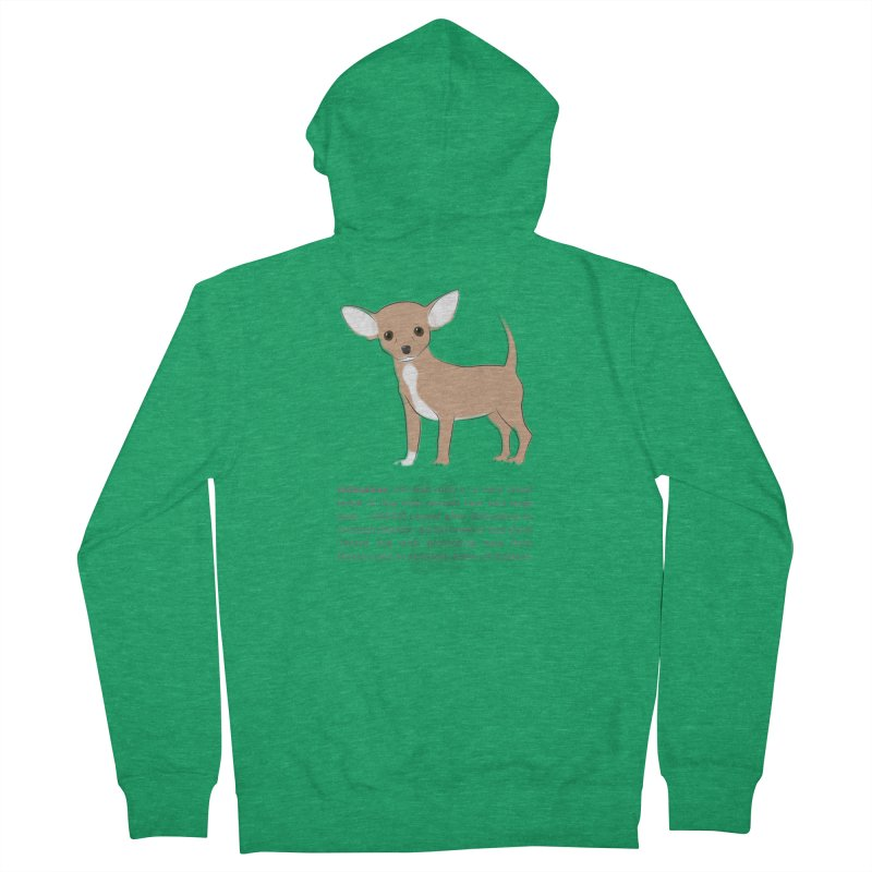 Chihuahua 2 Men's Zip-Up Hoody by grumpyteds's Artist Shop