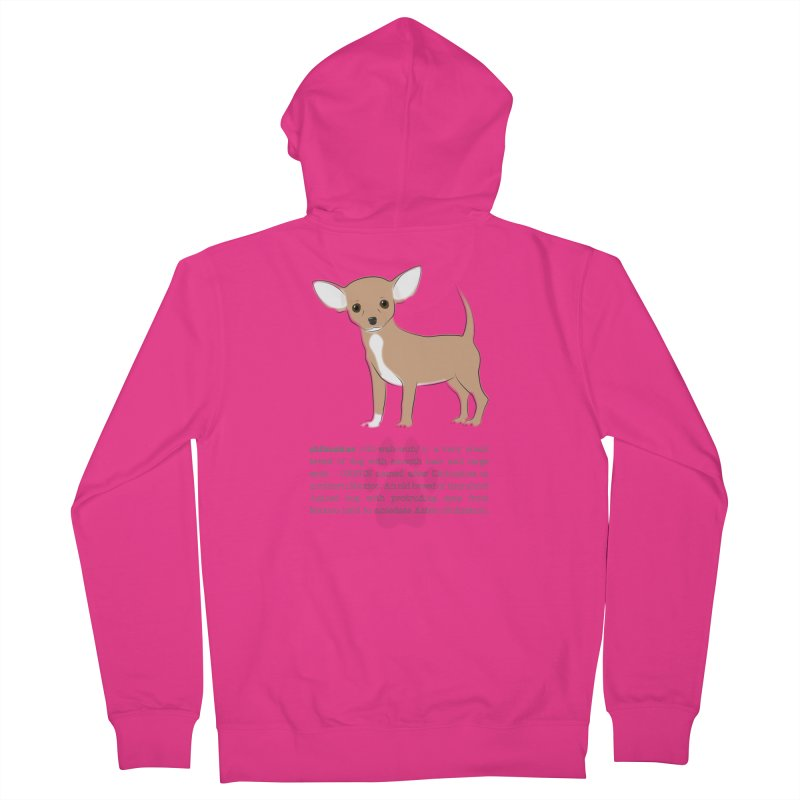 Chihuahua 2 Men's French Terry Zip-Up Hoody by grumpyteds's Artist Shop