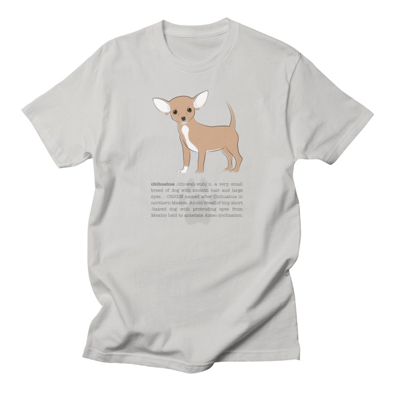 Chihuahua 2 Men's Regular T-Shirt by grumpyteds's Artist Shop