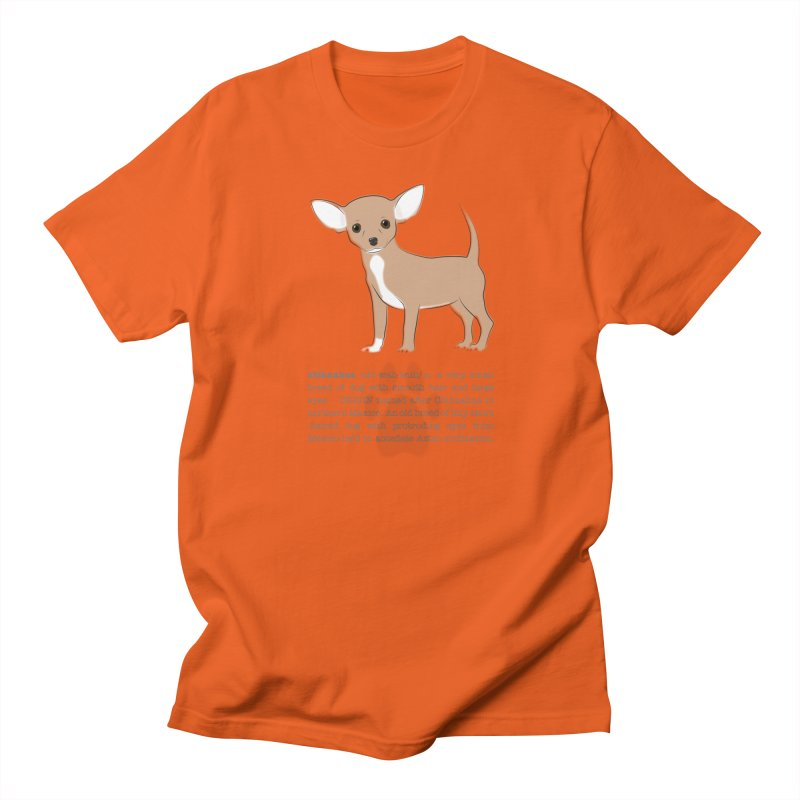 Chihuahua 2 Women's T-Shirt by grumpyteds's Artist Shop