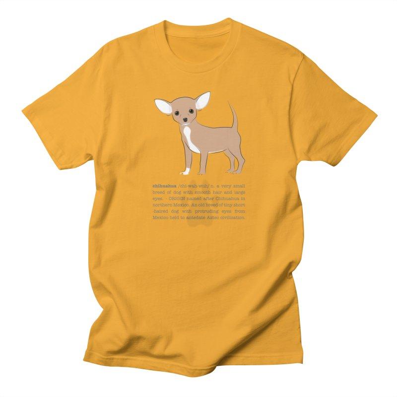 Chihuahua 2 Men's Regular T-Shirt by grumpyteds's Artist Shop