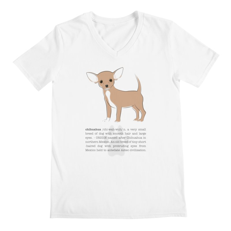 Chihuahua 2 Men's V-Neck by grumpyteds's Artist Shop