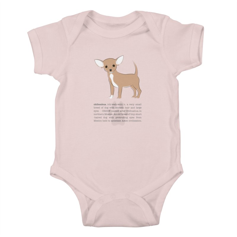 Chihuahua 2 Kids Baby Bodysuit by grumpyteds's Artist Shop