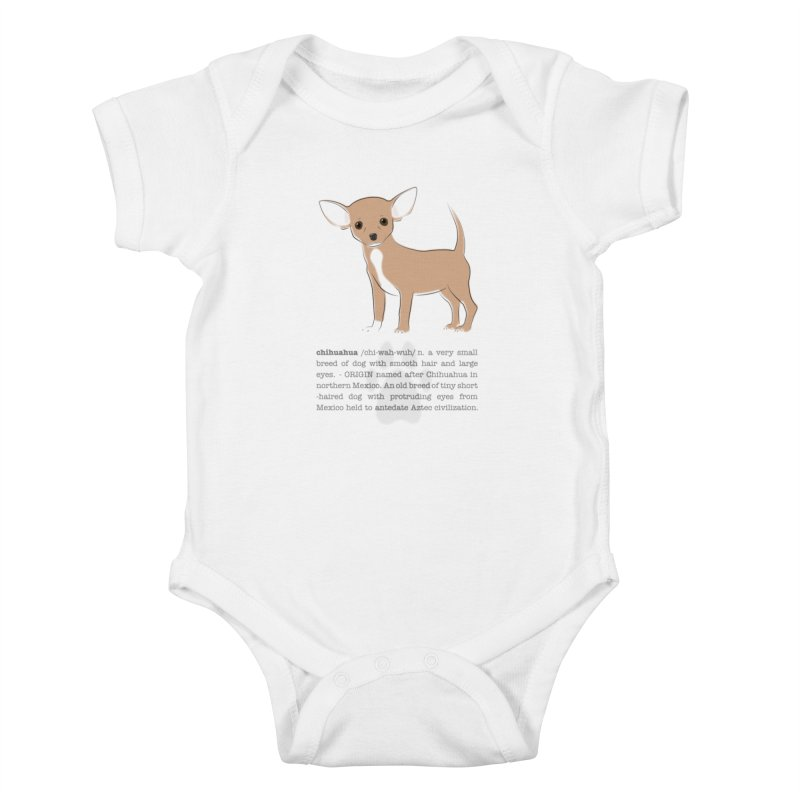 Chihuahua 2 Kids Baby Bodysuit by grumpyteds's Artist Shop