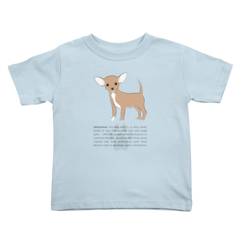 Chihuahua 2 Kids Toddler T-Shirt by grumpyteds's Artist Shop