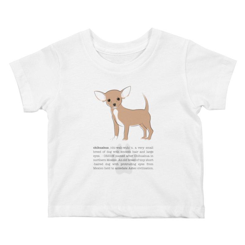 Chihuahua 2 Kids Baby T-Shirt by grumpyteds's Artist Shop