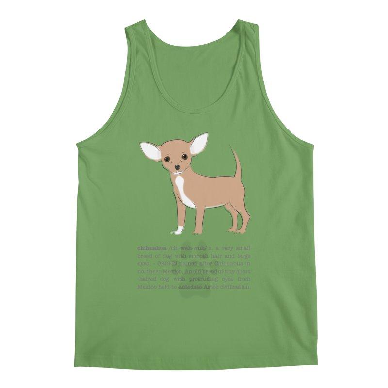 Chihuahua 2 Men's Tank by grumpyteds's Artist Shop
