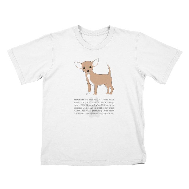 Chihuahua 2 Kids T-Shirt by grumpyteds's Artist Shop