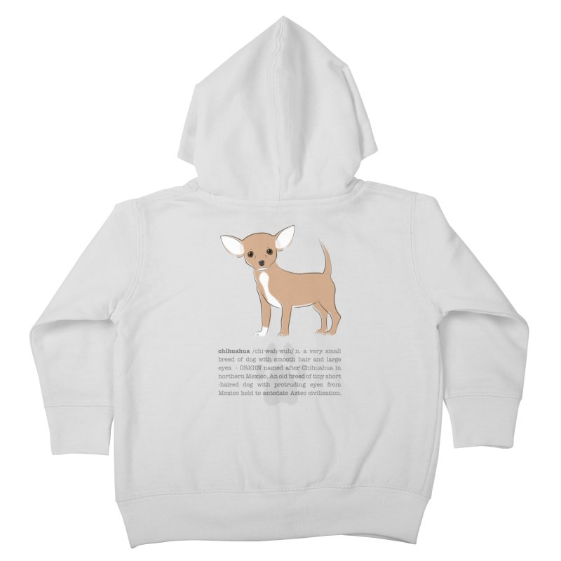 Chihuahua 2 Kids Toddler Zip-Up Hoody by grumpyteds's Artist Shop