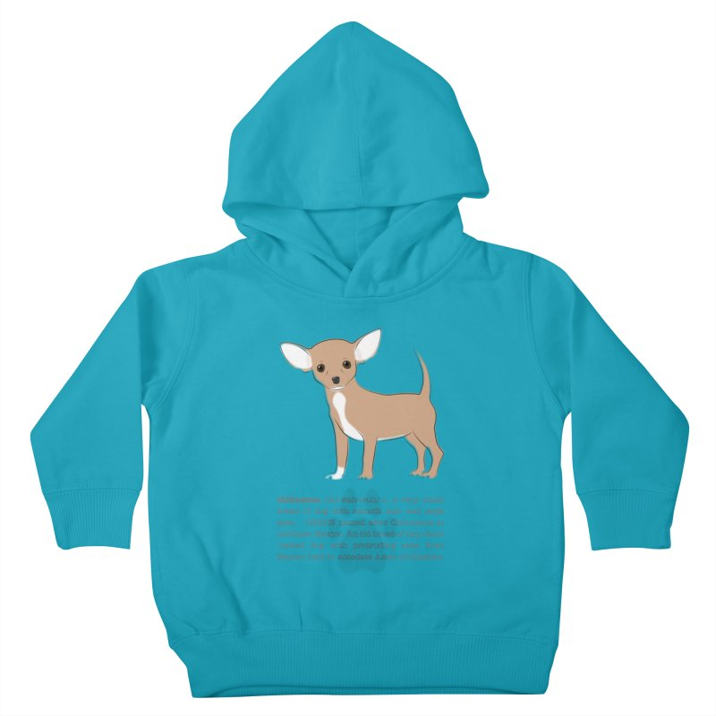 Chihuahua 2 Kids Toddler Pullover Hoody by grumpyteds's Artist Shop