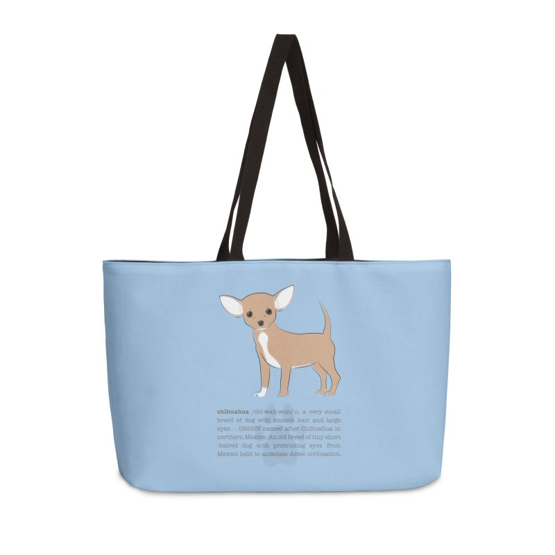 Chihuahua 2 Accessories Weekender Bag Bag by grumpyteds's Artist Shop