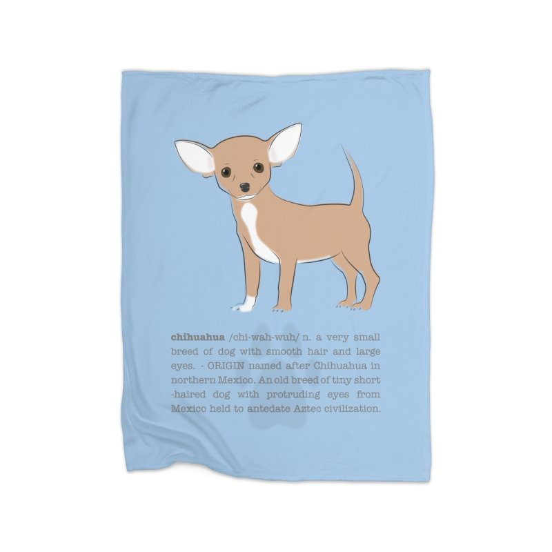 Chihuahua 2 Home Blanket by grumpyteds's Artist Shop