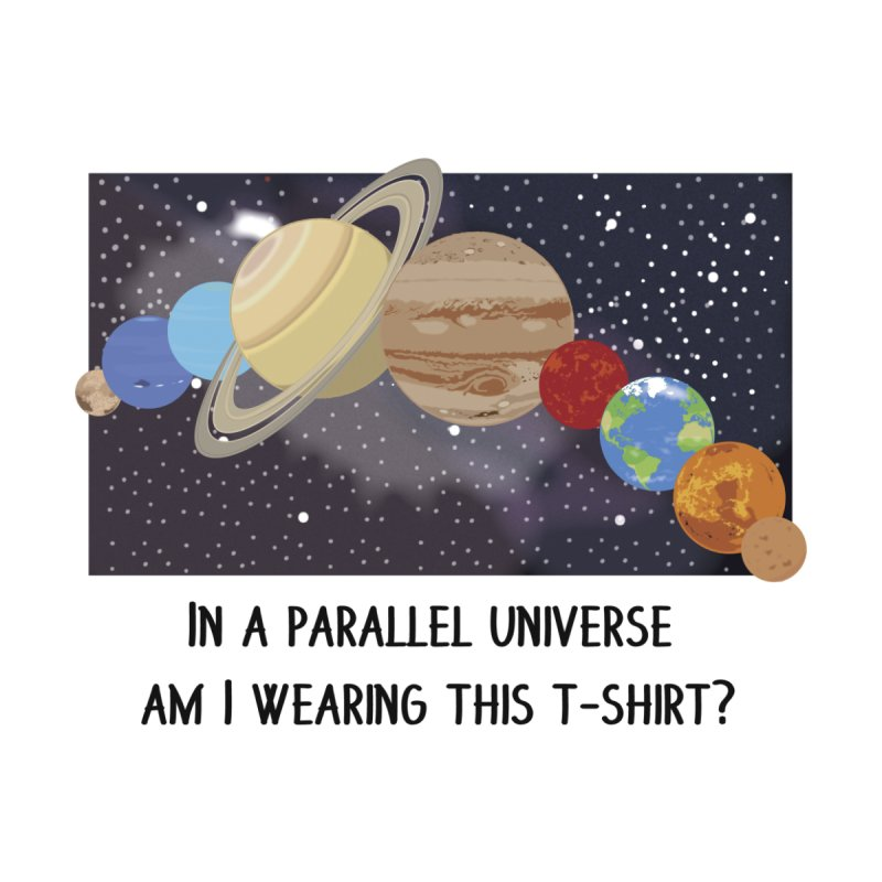 In A Parallel Universe! 1 Men's Pullover Hoody by grumpyteds's Artist Shop