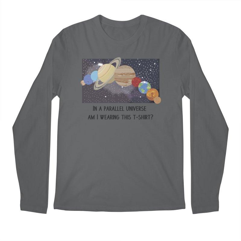 In A Parallel Universe! 1 Men's Regular Longsleeve T-Shirt by grumpyteds's Artist Shop