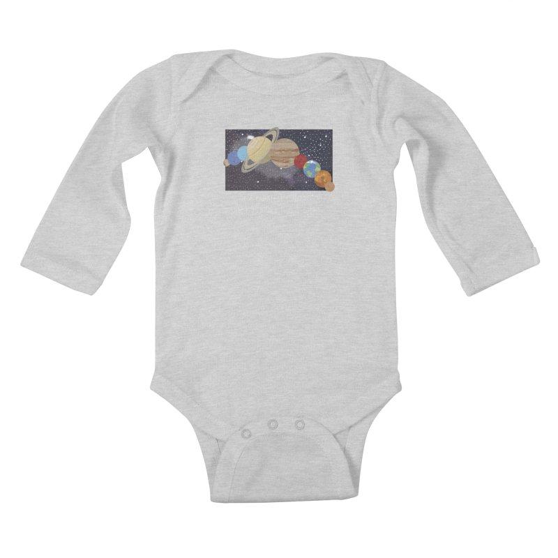 In A Parallel Universe! 2 Kids Baby Longsleeve Bodysuit by grumpyteds's Artist Shop