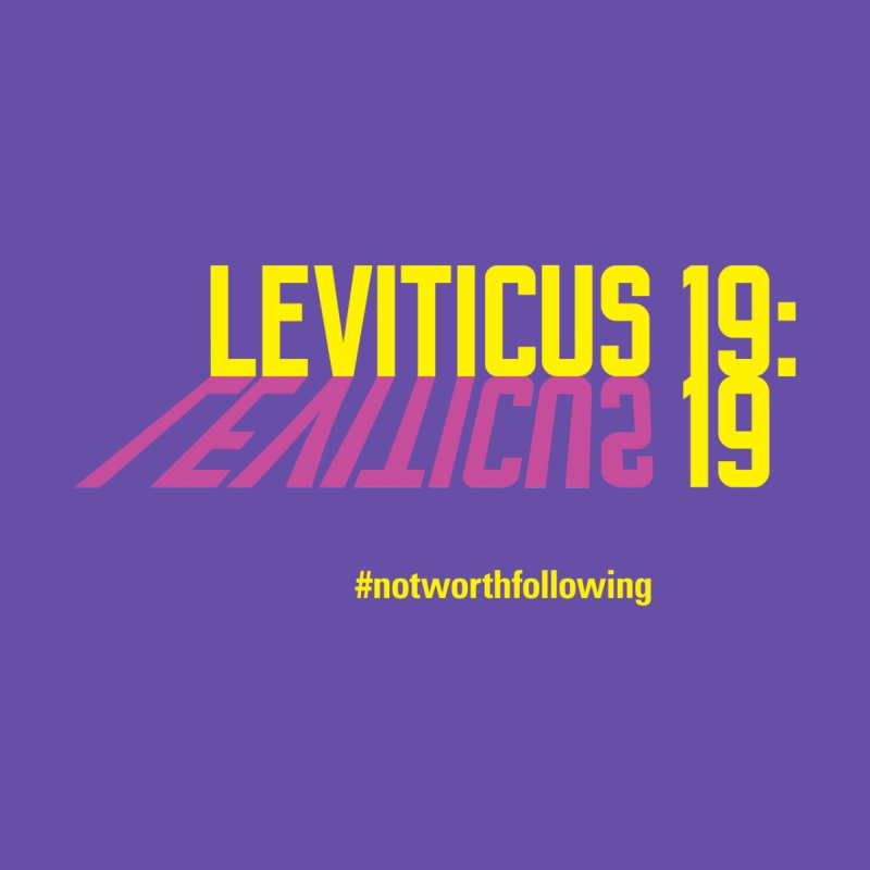 Leviticus 19:19 by grundy's Artist Shop