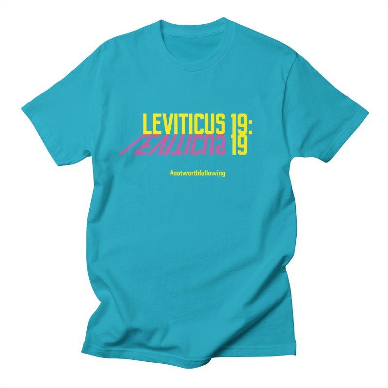 Leviticus 19:19 Men's T-Shirt by grundy's Artist Shop