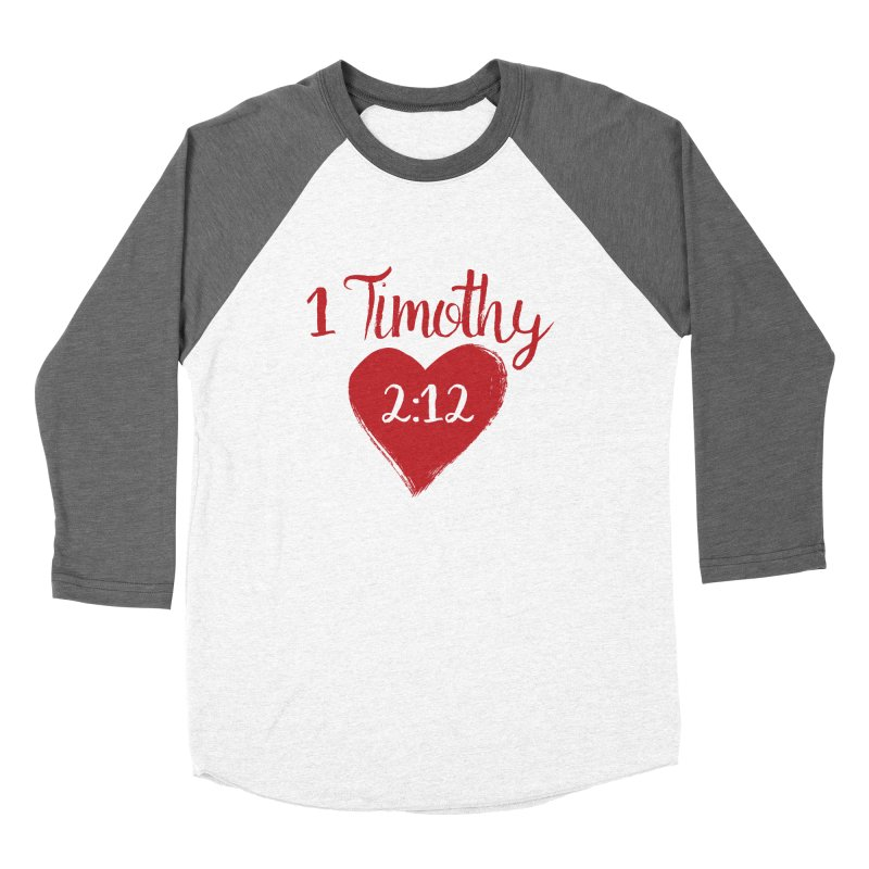 1 Timothy 2:12 Men's Baseball Triblend Longsleeve T-Shirt by grundy's Artist Shop